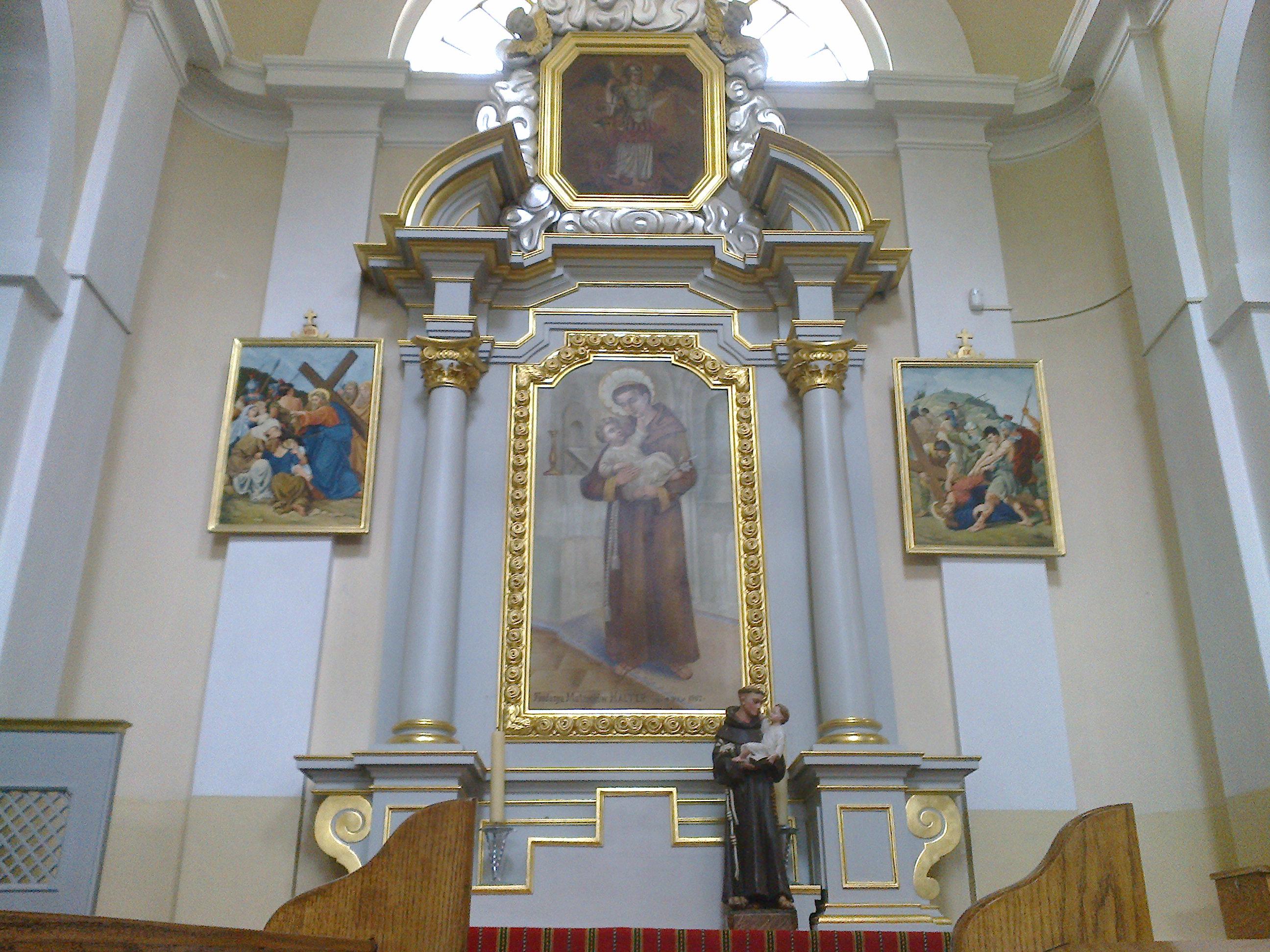 Ołtarz św.Antoniego