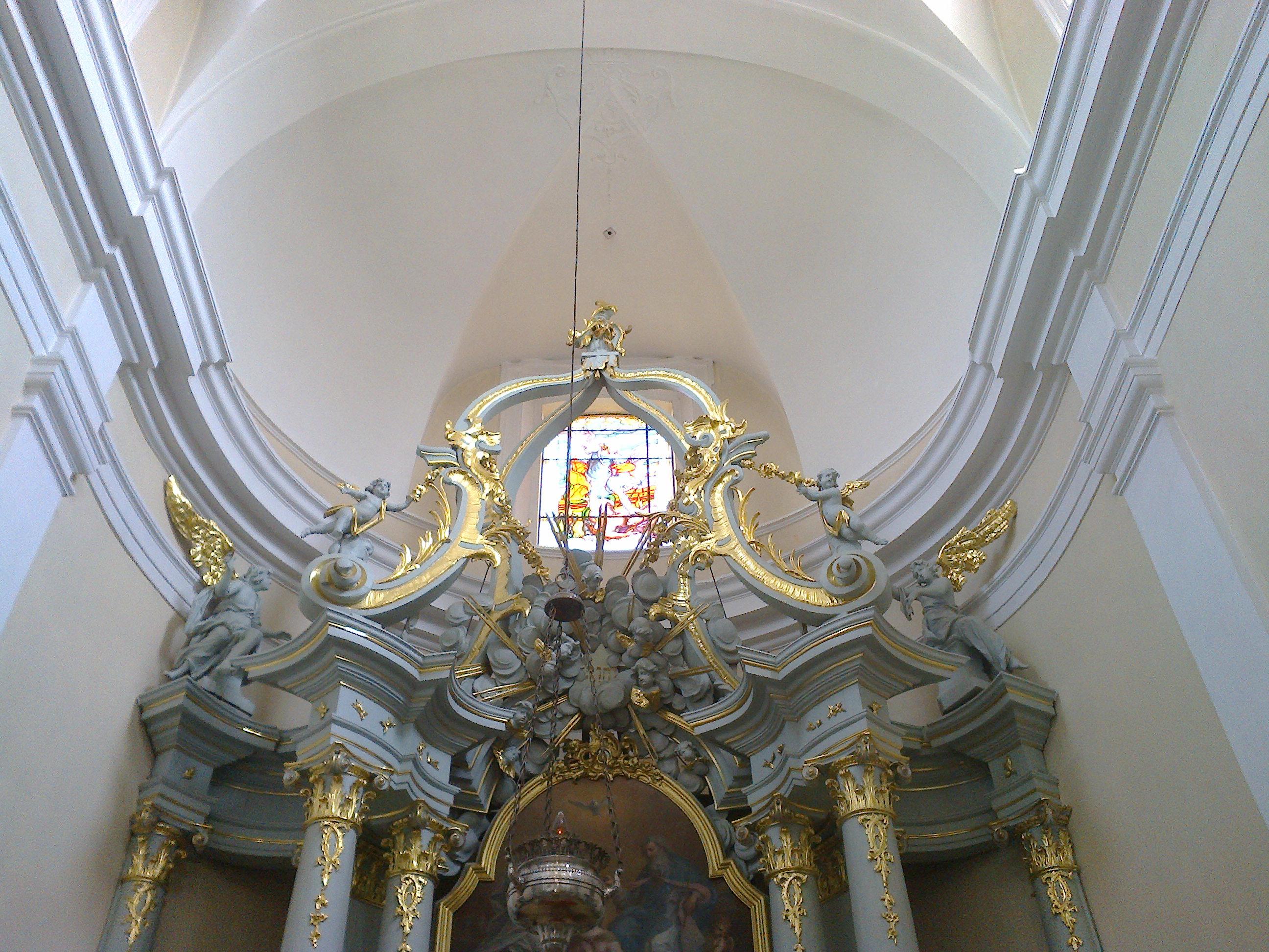 Zwieńczenie prezbiterium