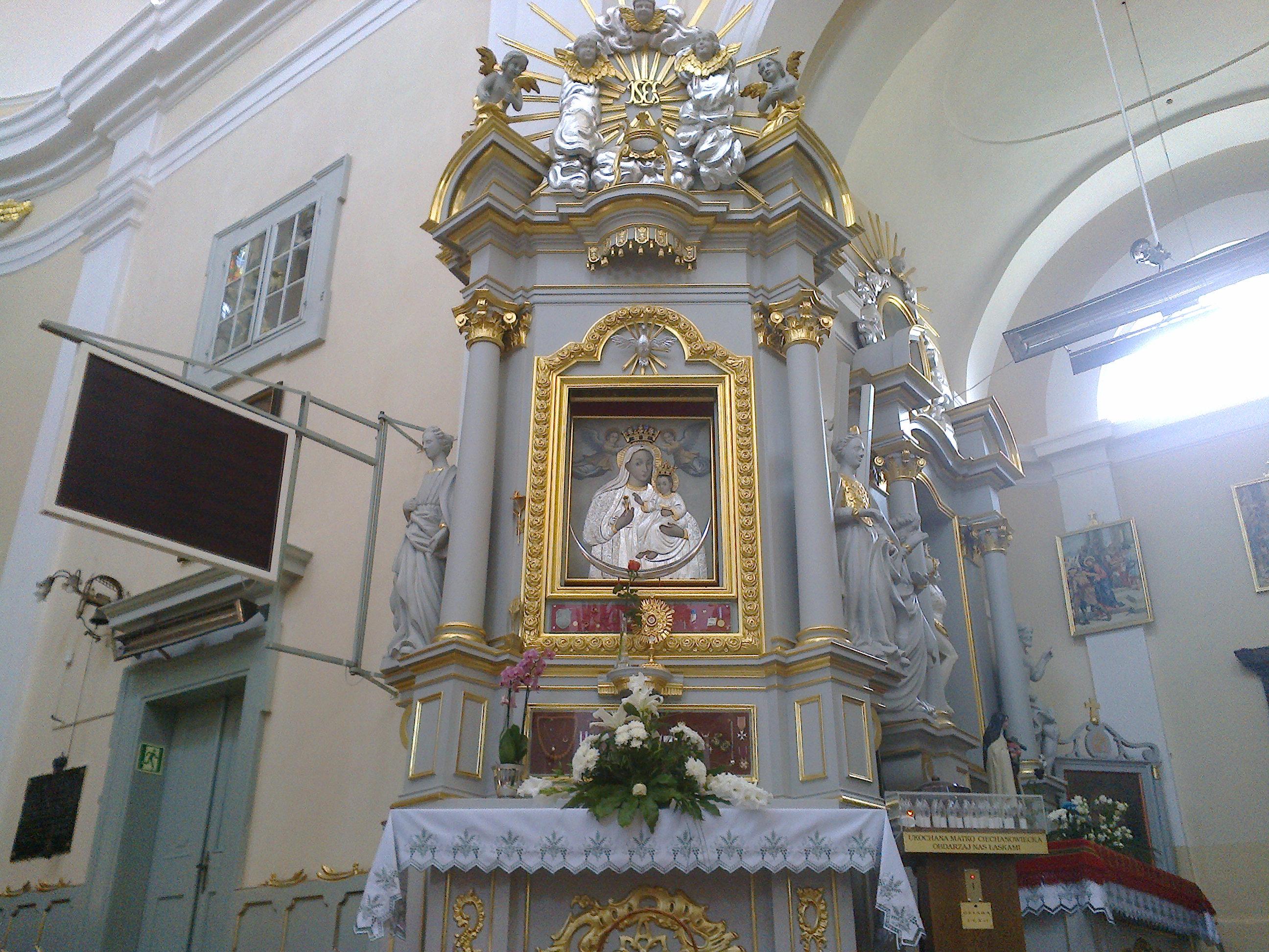 Wizerunek Matki Bożej Słuchającej (Ciechanowieckiej)