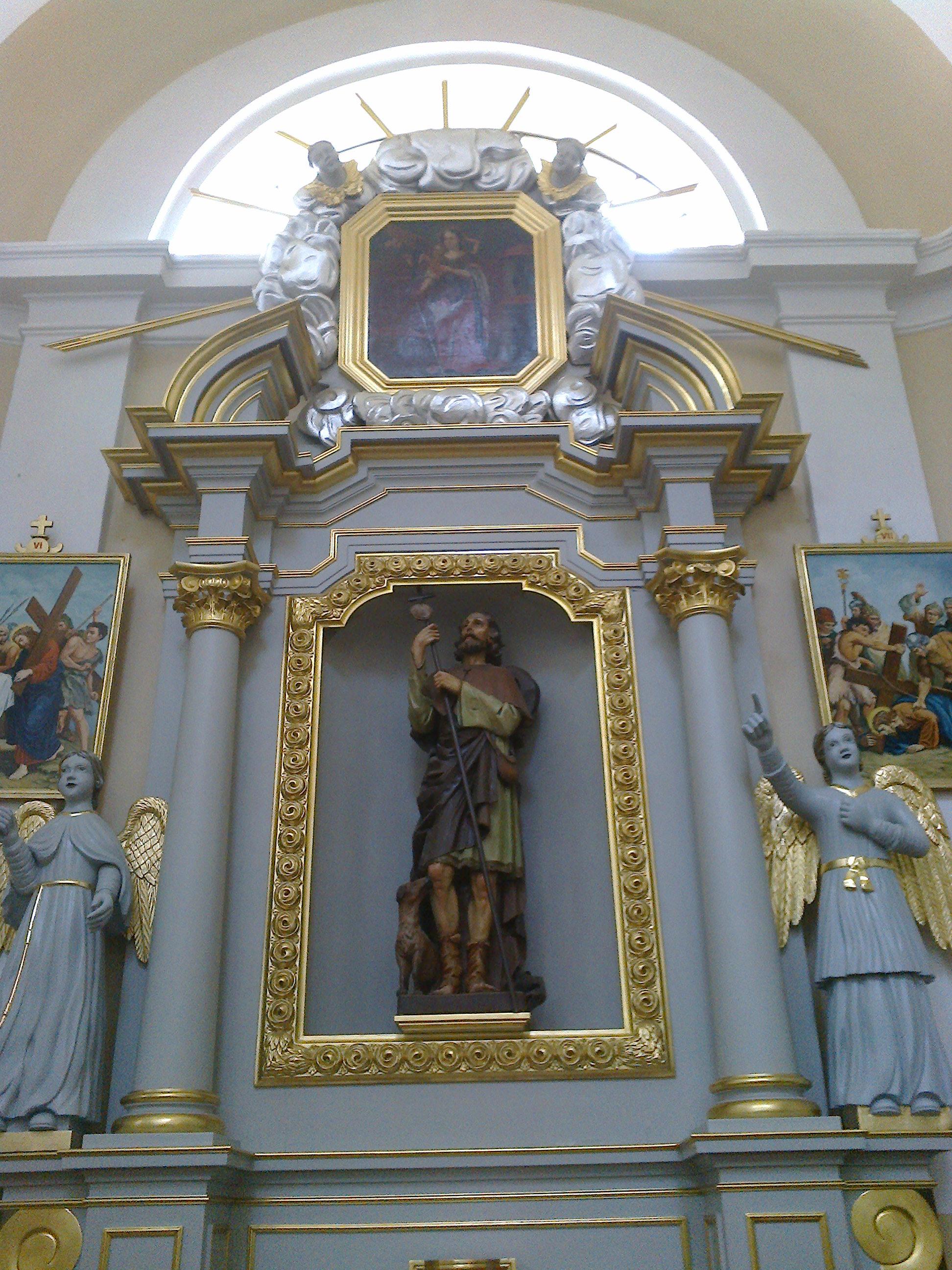 Figura św. Rocha