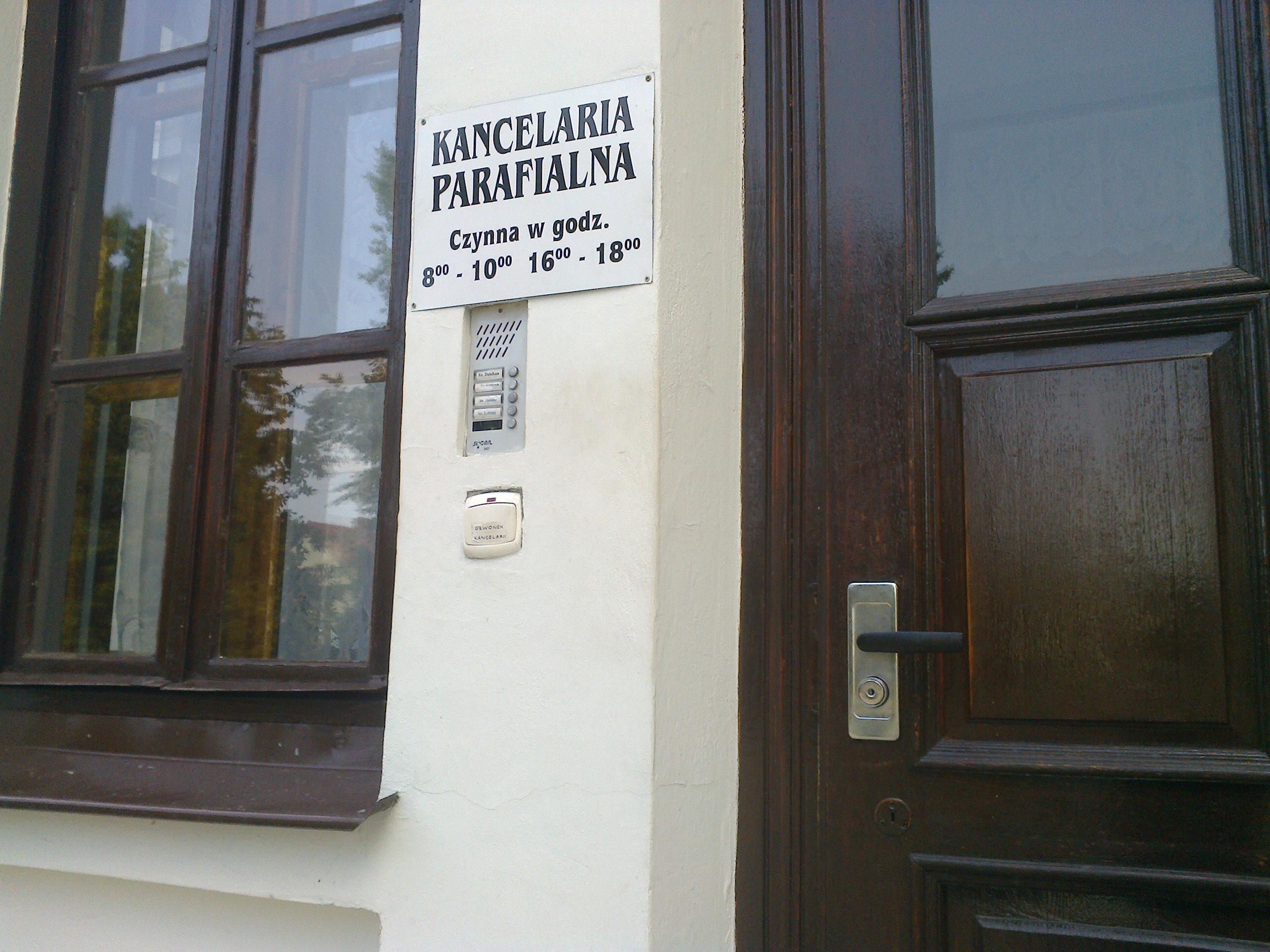 Kancelaria Parafialna